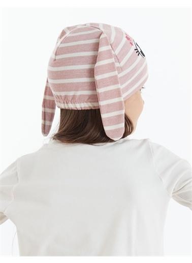 Denokids Star Bunny Kız Şapka Pembe